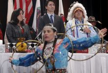 Prime Minister Justin Trudeau announces additional funding for Indigenous peoples and communities.