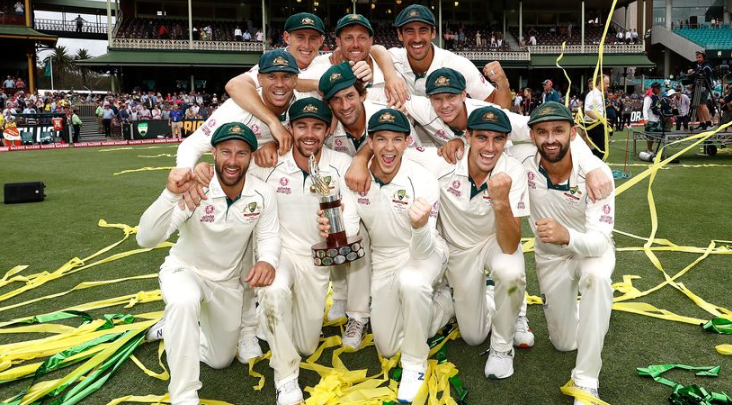 Australia advance to the top of men's Test and T20I rankings