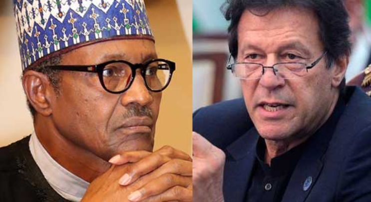 PM Imran Khan and Nigerian President Buhari discuss socio-economic challenges amid COVID-19