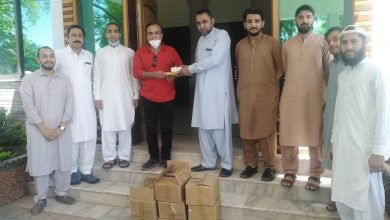 Department of Social Work, UOP organize Hygiene drive amid COVID-19