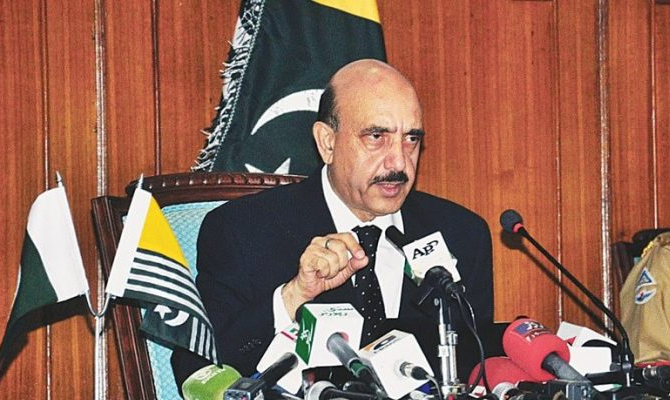 BJP-RSS regime plans to turn IOJ&K into Hindu state: AJK President Masood