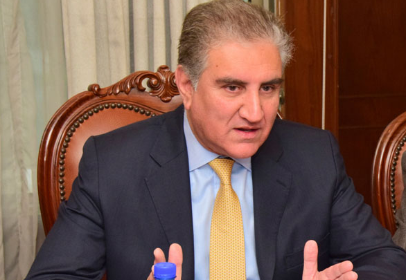 Indian Govt behaving like an expansionist nation: Foreign Minister Qureshi