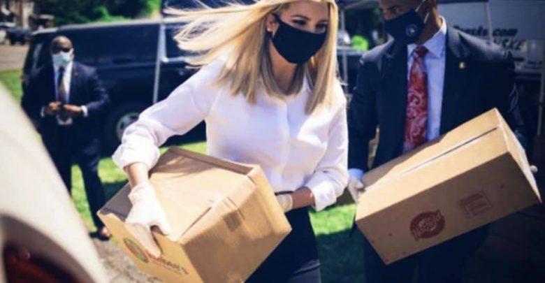 Ivanka Trump says '20 Million food boxes delivered to families in need'