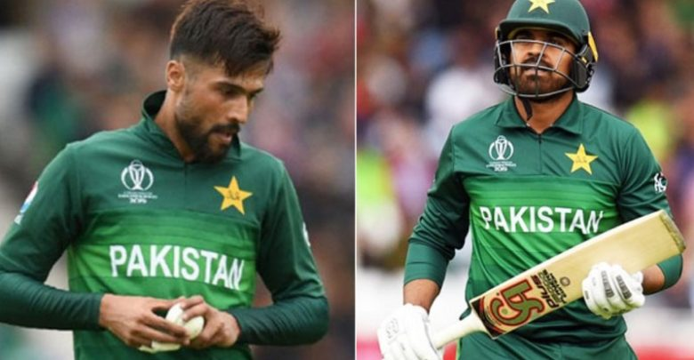 Amir and Haris Sohail not included in England tour