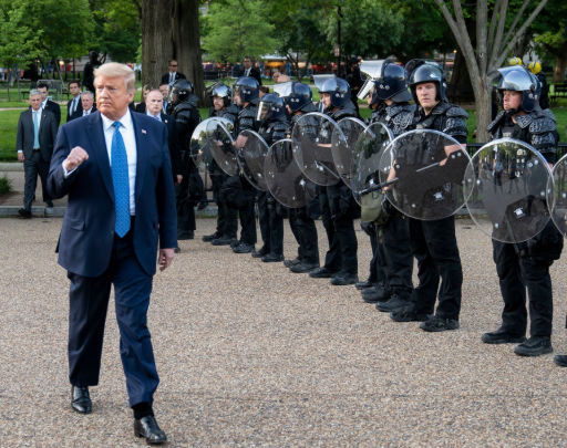 George Floyd's death: President Trump threatens to send in military to quell unrest