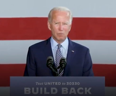 Joe Biden: American workers can out-compete anyone but need someone who fights for them.