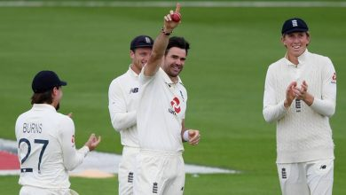 James Anderson becomes first fast bowler to 600 Test wickets