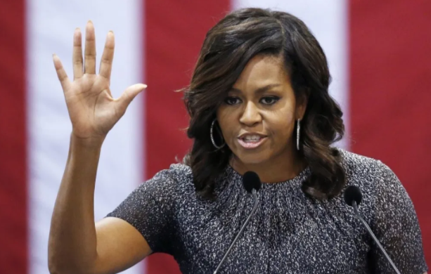 Michelle Obama says 'Donald Trump is the wrong president for our country'