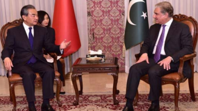 FM Qureshi, Chinese counterpart Wang Yi discuss bilateral relations