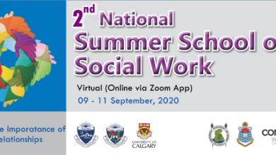 The '2nd National Summer School of Social Work' on 'Promoting the Importance of Human Relationships'